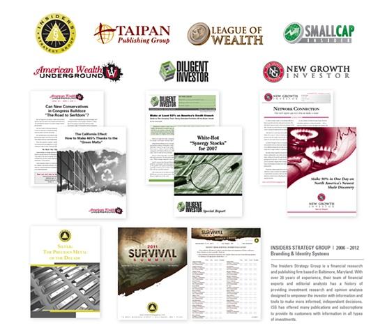 2006 – 2012 Branding & Identity Systems