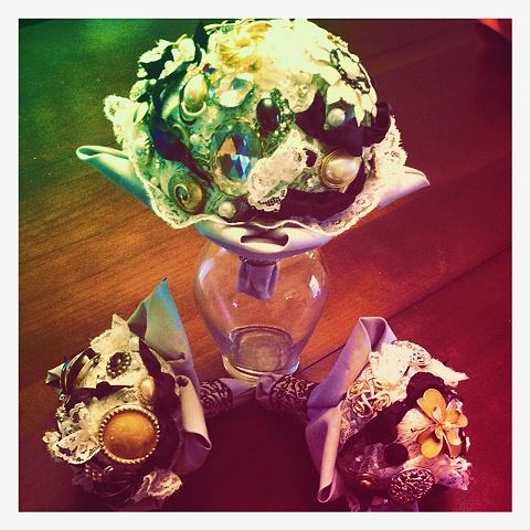 McDonald/Siena bouquets