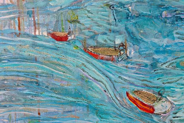 Lake Atitlan (detail)