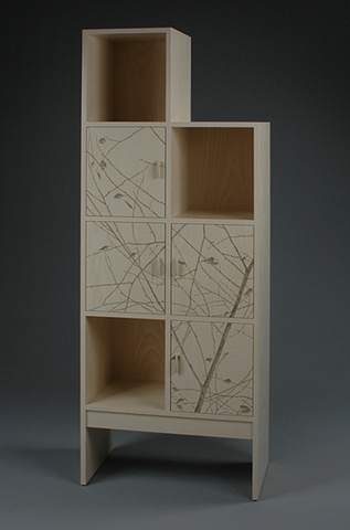 Cabinet with Branches