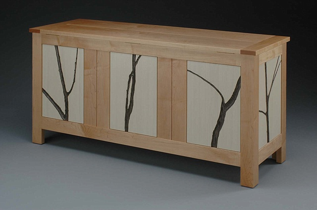 Blanket Chest with Saplings