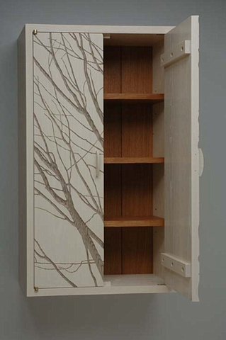 Wall Cabinet with Branches