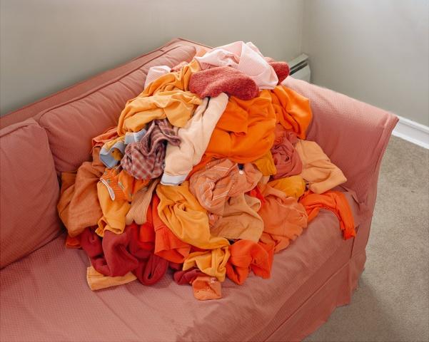 I'm glad I don't wear only orange clothes