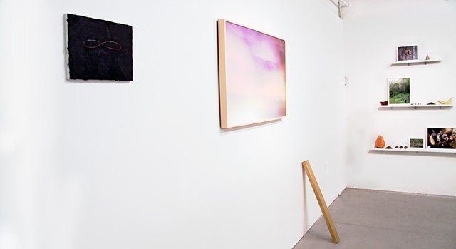 "Exhibition shot ""As Above So Below"" at Johalla Projects, Chicago IL 2013"