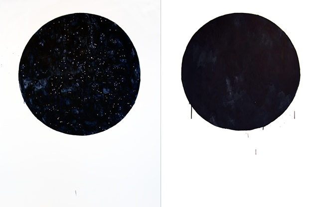 What Exists/What I Perceive (diptych)