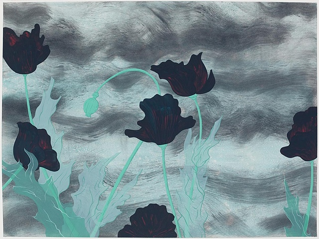 Black Poppies (study)