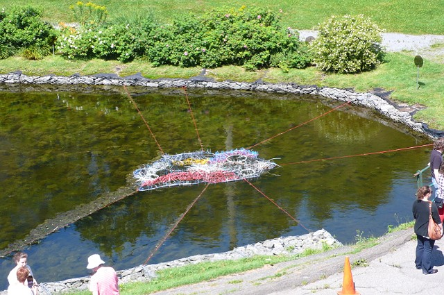 FLOAT, 2013 (Mixed media installation; Third Space (duck pond), Saint John NB