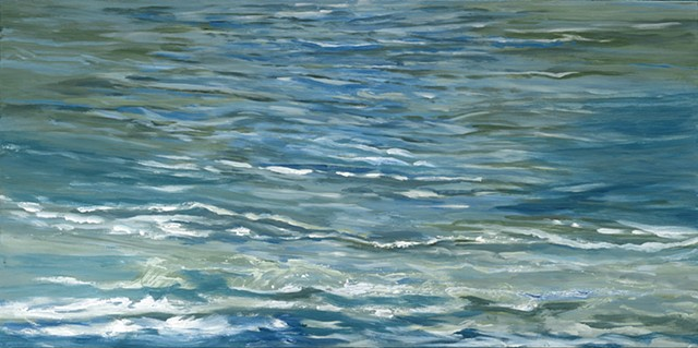 Water Music Oil on canvas