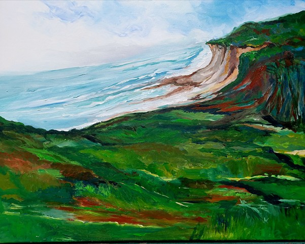 Breezy Cliff, inspired at Montauk, Long Island