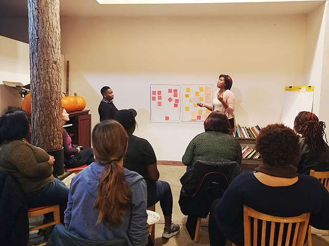 WAYS WE MAKE:  Mothers of Color Nurturing and Building Our Creative Communities: 1st Night