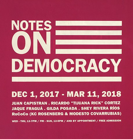 Notes on Democracy at MACLA