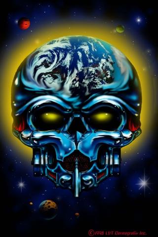 Skull Space (Little Vinnies)