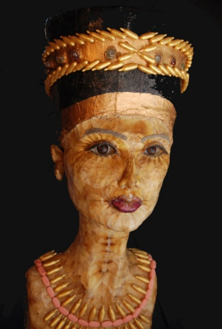 Nefertiti's Secret sculpture