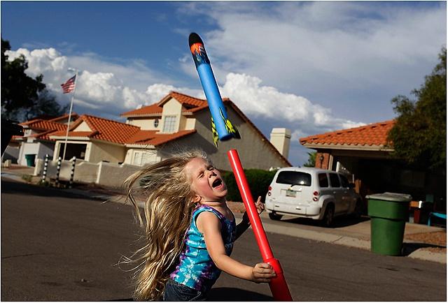Rockets in Suburbia