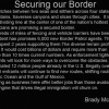 Sealing our Border