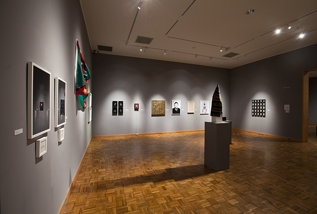 Installation Shot from Snite Museum Exhibition