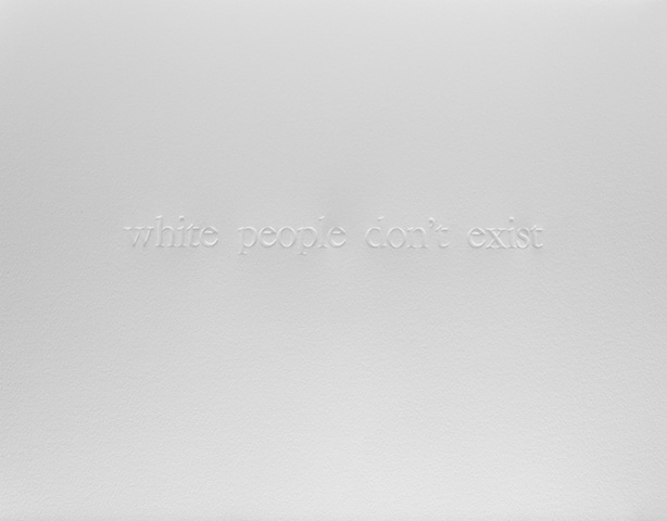 White people don't exist