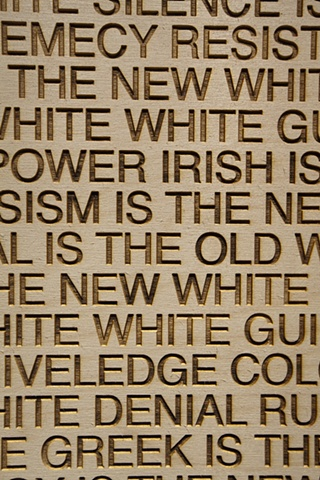 New Whiteness - detail