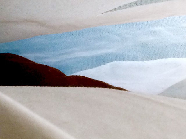 #HomemadeLandscape No.37: Under the Clouds (Curtain, Pillow, Couch)