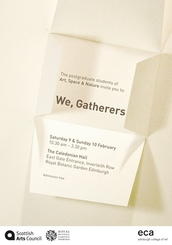 """We, Gatherers"" Poster"