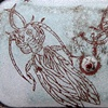 Dobsonfly belt buckle
