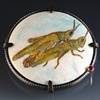 Mating Grasshoppers Brooch