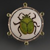 Fig Beetle Brooch