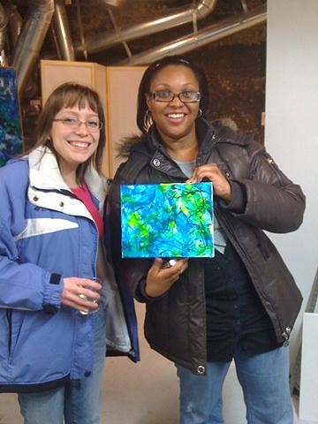 Gabrielle & Niesha, 2010