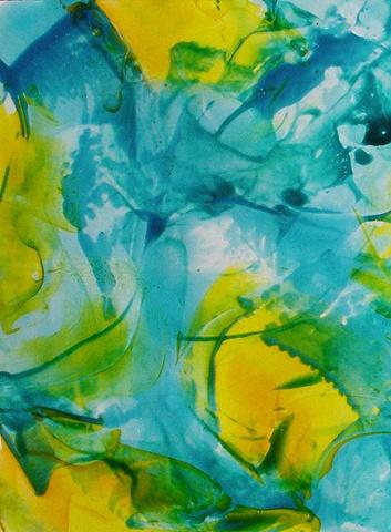 Yellow Pond Lilies IV
