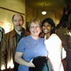 Fellow artist, Marilyn, and her family at the 2007 Dale Chisman's Students Group Show