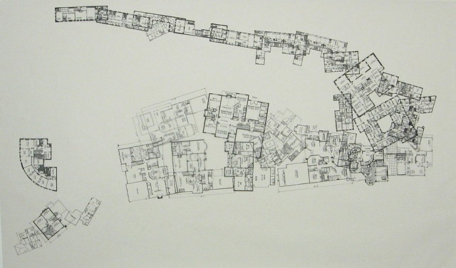 The Geometer's Isolated Cyanotype (structura dimetri cartogramme)