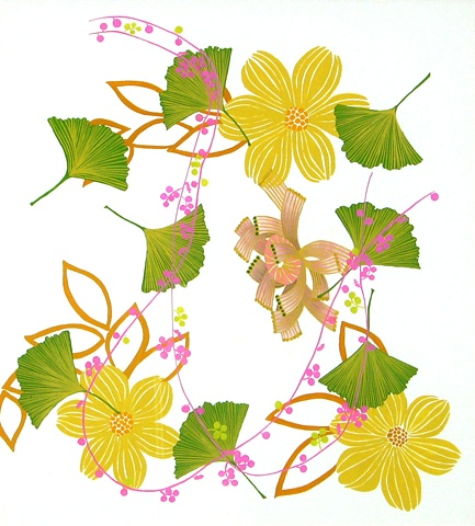 Florilegium Series #6 (streng ginkgoaceae connectere delosperma nubigenum)