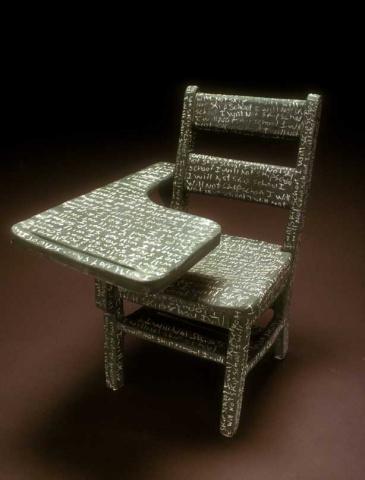 Chalk board chair