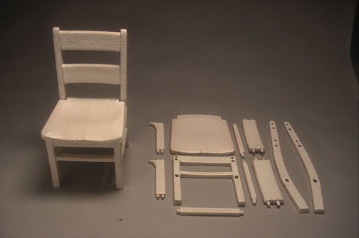 Deconstrction chair