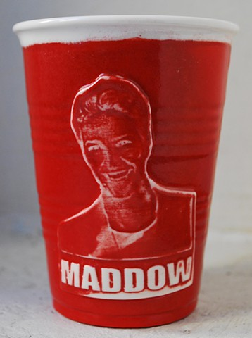 Rachel Maddow Solo Party Cup