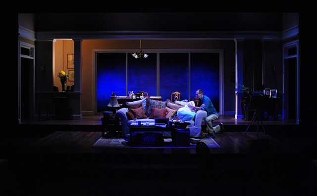 Tragedy of the Commons by Stephen Metcalfe, directed by Sean Murray, set design by Sean Fanning