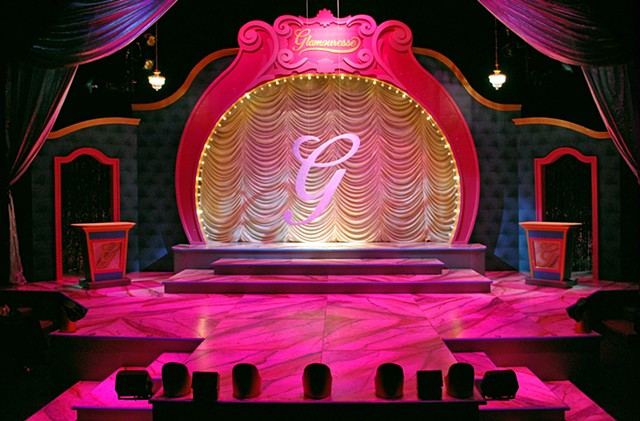 Scenic Design by Sean Fanning, Pageant at Cygnet Theatre, directed by James Vasquez, San Diego