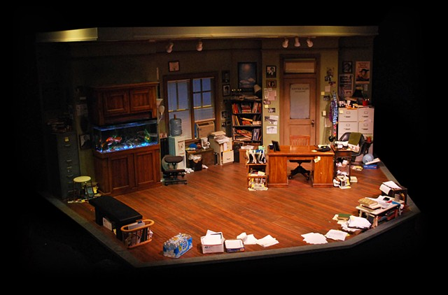"Cygnet Theatre, ""Mistakes Were Made"" by Craig Wright.  Directed by Shana Wride, Set Design by Sean Fanning."