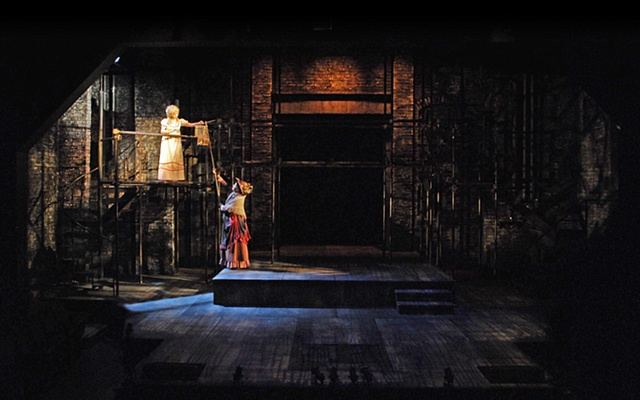 Sweeney Todd set design by Sean Fanning