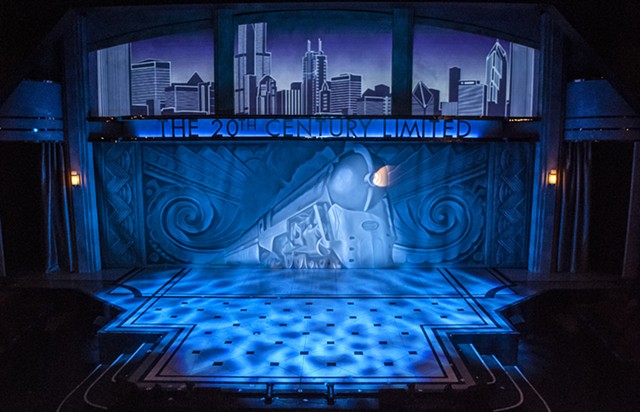 Cygnet Theatre On the Twentieth Century Scenic Design by Sean Fanning