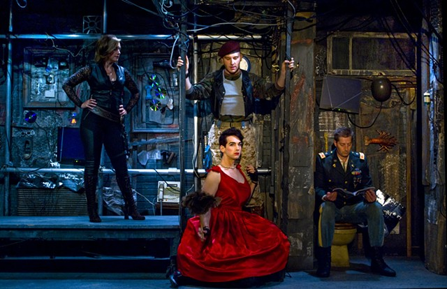Sean Fanning's set design for Pippin at Diversionary Theatre directed by James Vasquez, San Diego