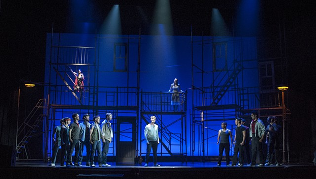 Scenic Design by Sean Fanning, West Side Story for San Diego Musical Theatre, directed by James Vasquez, Spreckels Theatre San Diego