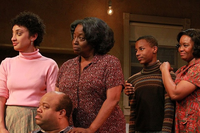 A Raisin in the Sun, Moxie Theatre.  Directed by Delicia Turner Sonnenberg, Set Design by Sean Fanning.