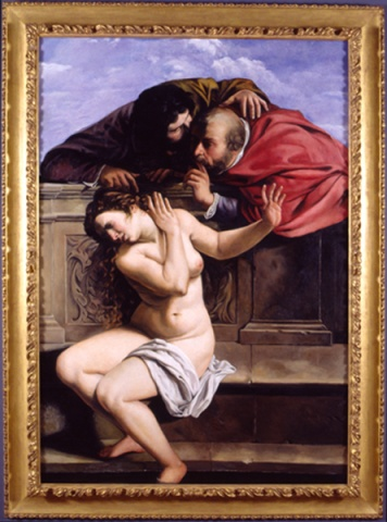 Susanna and the Elders, Restored