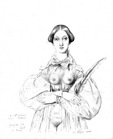 9.Mademoiselle Louise Vernet, Restored