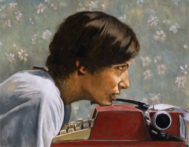 Rosalind Krauss in the Manner of Degas