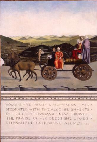 Battista Sforza, Restored (Verso)