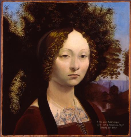 Ginevra Da Benci, Restored