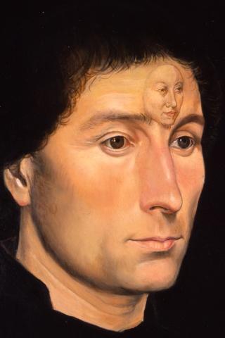 Portrait of Tommaso Portinari, Restored (Detail)