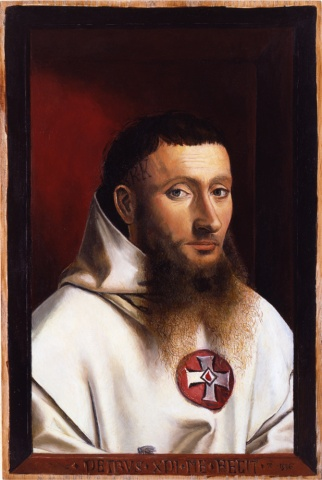 Portrait of a Carthusian, Restored